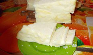 Как сварить домашний сыр из творога, пошаговый рецепт