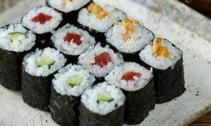 Как сделать суши дома. Пошаговый рецепт с фото