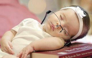 Как уложить годовалого ребенка спать?