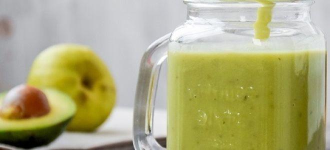 Полезные и вкусные смузи из авокадо, 5 быстрых рецептов
