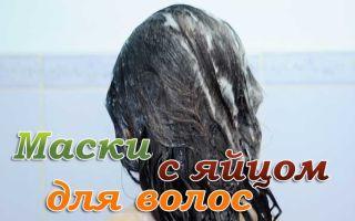 Яичные маски для роста волос