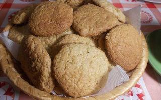 Рецепты овсяного печенья
