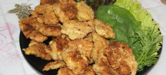 Фото рецепт домашних куриных наггетсов
