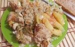 Рулетики из куриного филе с яблоками и сыром