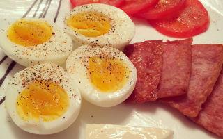 Яичная диета или как расстаться с лишним весом вкусно