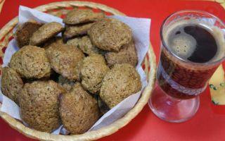 Рецепт кофейного печенья на маргарине