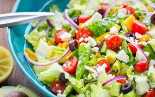 Пошаговый рецепт греческого салата с фото
