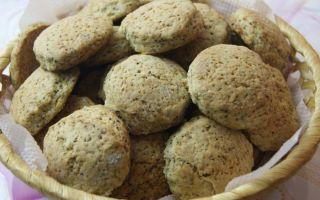 Рецепт вкусного печенья на маргарине с маком