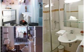 Дизайн ванной маленьких размеров: фото