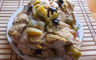Домашний куриный рулет в духовке, рецепт с фото