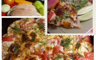 Рецепт запечённого мяса с овощами