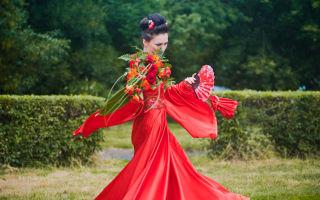 Выбираем свадебное платье в японском стиле