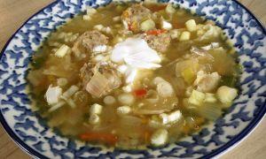 Гороховый и вермишелевый суп с фрикадельками. Пошаговые рецепты с фото