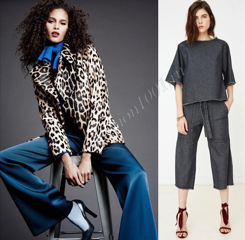Свободные брюки стрейч и туника