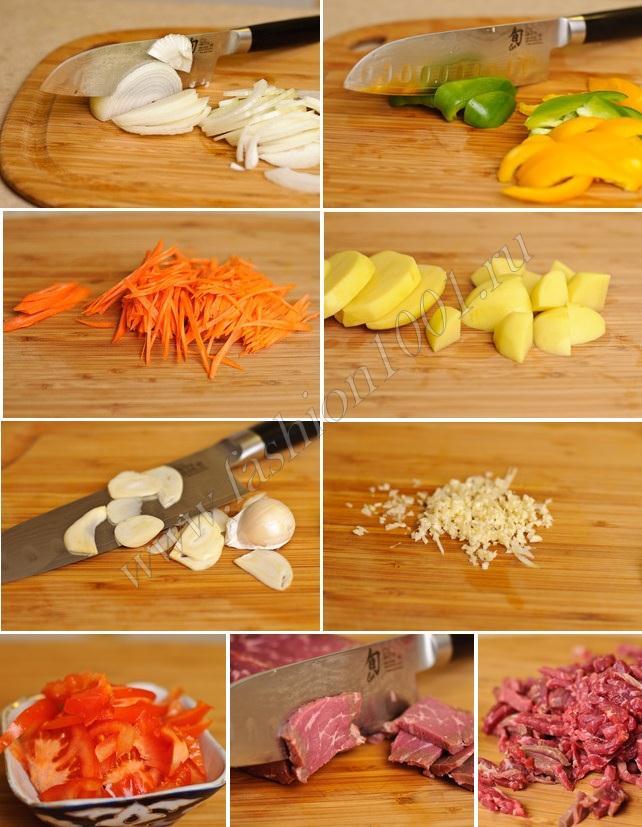 Как готовить лагман рецепт