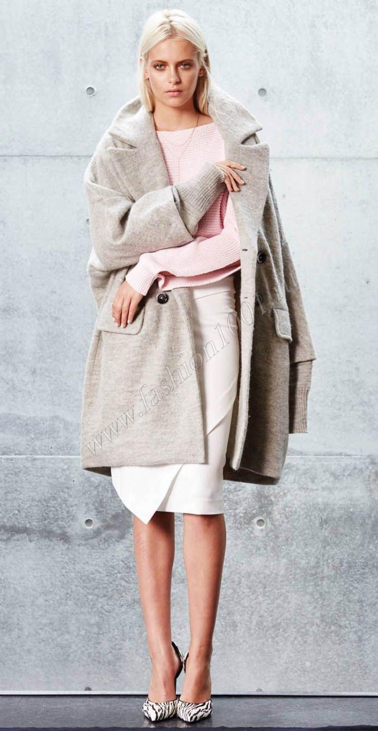 юбка с пальто
