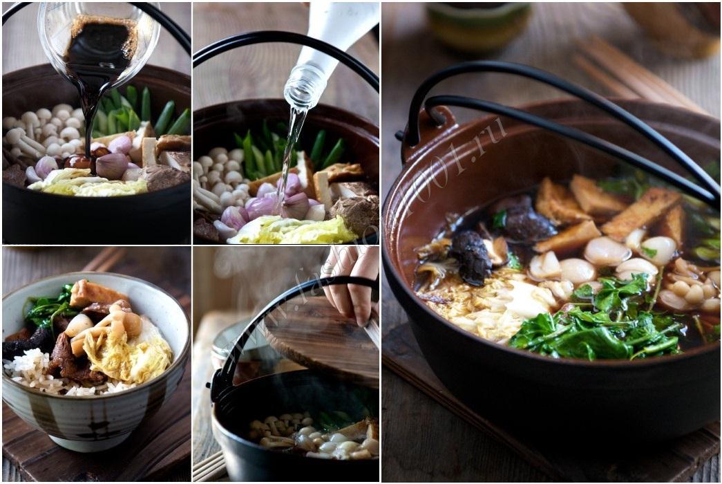 Sukiyaki рецепт