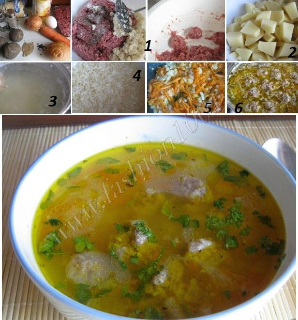 суп с рисом и курицей рецепт с фото пошагово