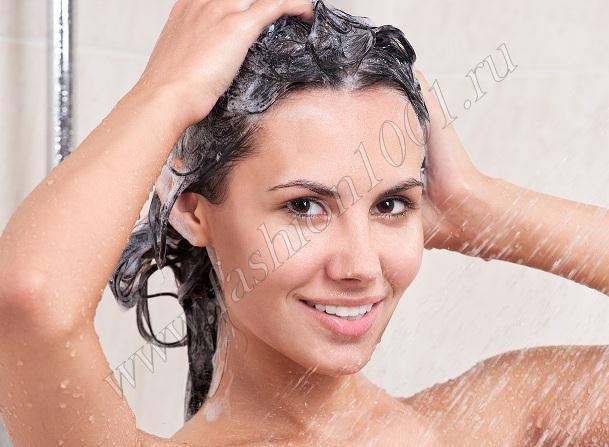 Некоторые шампуни портят волосы