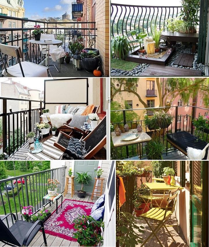 Фото: домашний офис на балконе