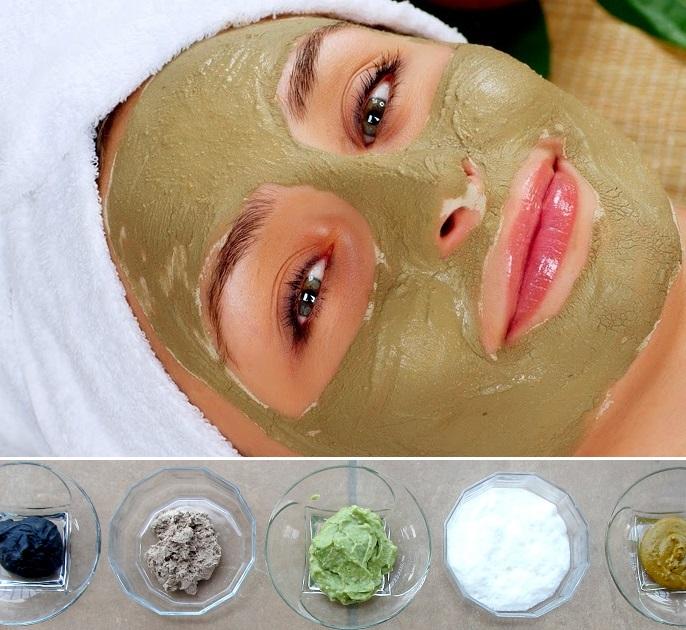 Разновидности глины для лица
