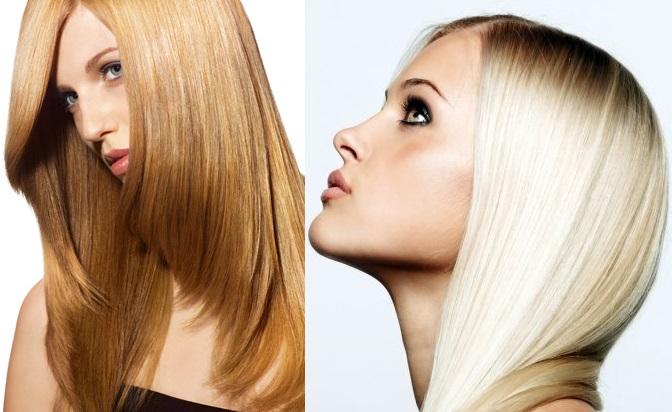 Фото - осветление волос