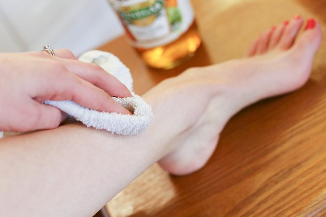 Увлажнение против раздражения кожи