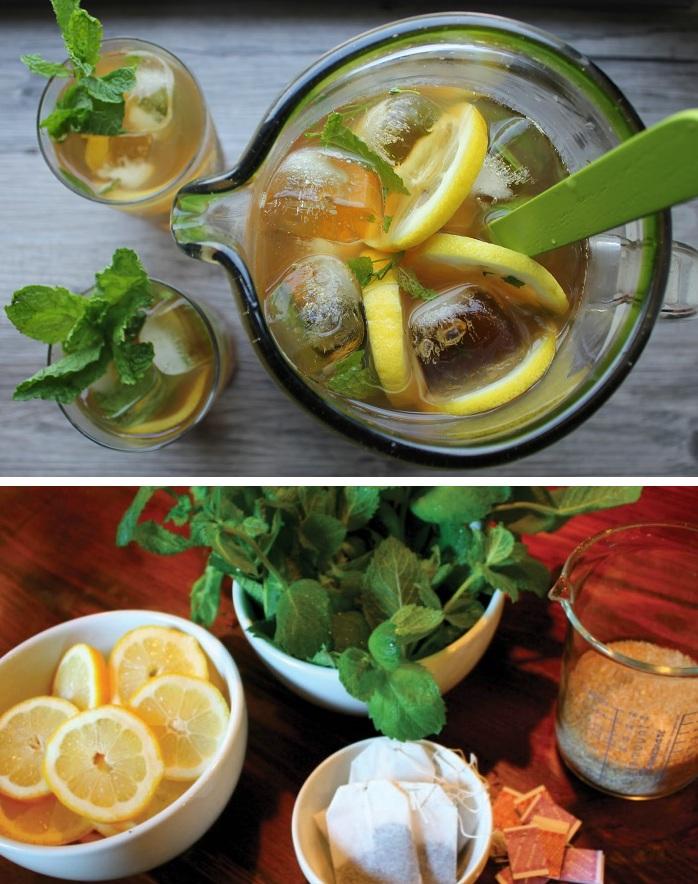 Рецепты чая с мятой
