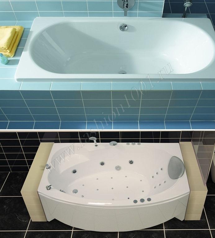 Дизайн стальных ванн