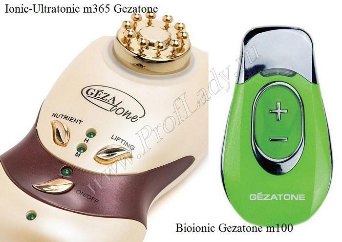 Микротоки для лица: Ionic-Ultratonic m365 Gezatone