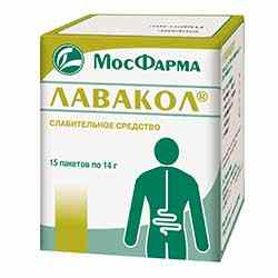 Лавакол для чистки кишечника