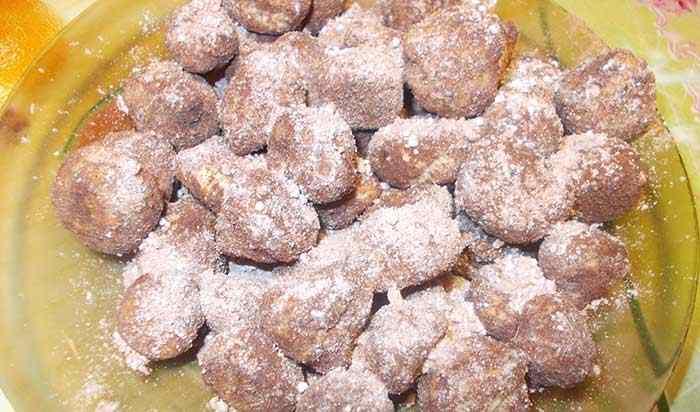 Трюфельное песочное печенье
