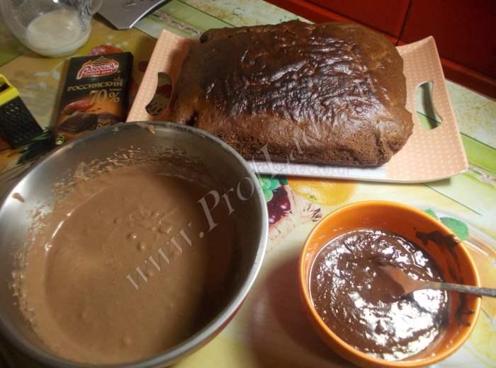 Торт Прага: почти все готово