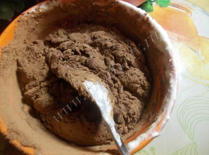 Торт Прага: какао со сгущенкой