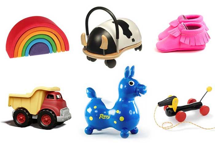 Идеи подарков на 1 год ребенку