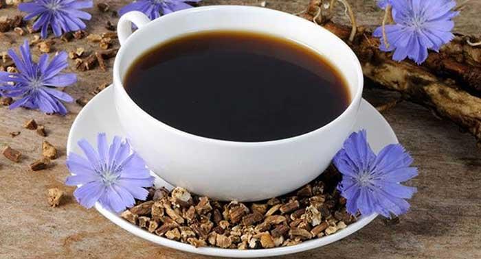 Чашка растворимого цикория