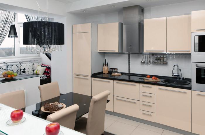 Маленькая кухня в стиле контемпорари