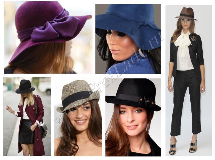 Модные женские головные уборы, модели 2017 года, более 70 фото