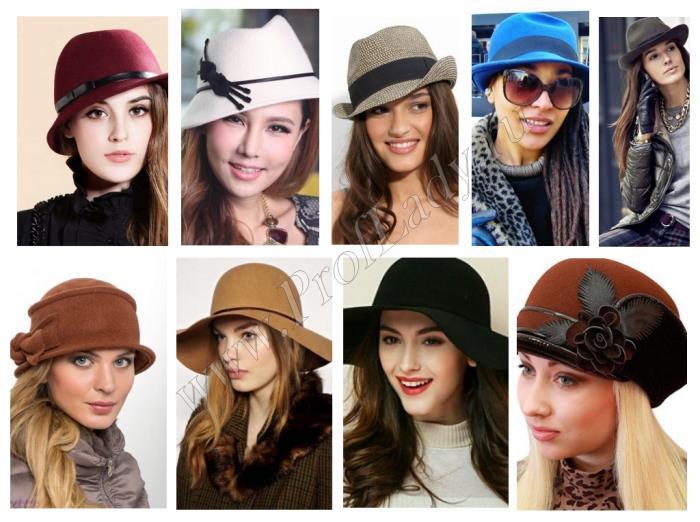 Фото модных шляпок