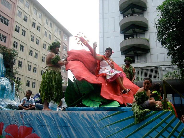 Фото праздника на островах Фиджи