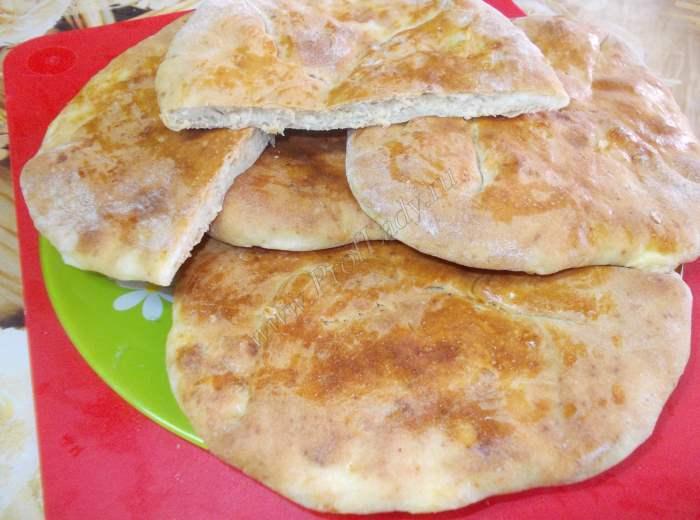 тесто для хачапури на кефире с сыром рецепт с фото